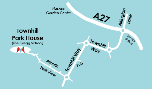 Thornhill Park Map